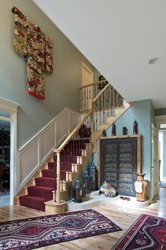 Victoria court project asian staircase chicago vedco design
