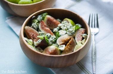 Fig Blue Cheese Salad Recipes. #Recipes
