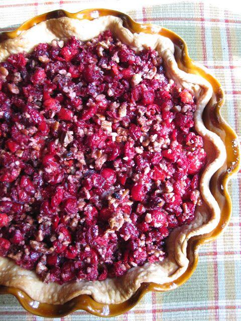 Cranberry Pecan Pumpkin Tart Recipe — Dishmaps