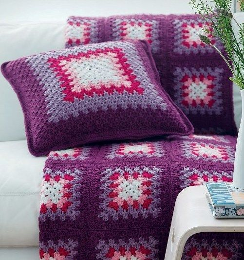 Knitting Pillows For Beginners : Knitting pillow patterns for beginners handmade crochet