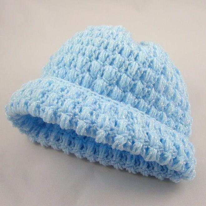 Crochet Stitches Baby Hats : free popcorn stitch patterns bumpy popcorn crochet scarf pattern ...