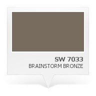 Sw 7033 Brainstorm Bronze Essencials Sistema Color Pinterest
