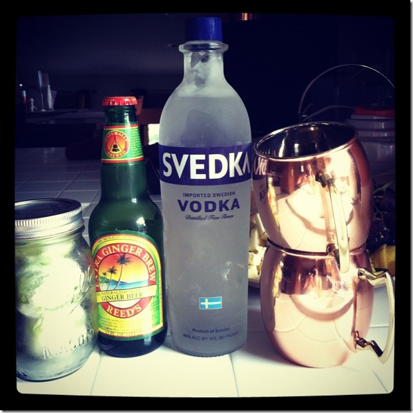Moscow Mule - I may have to try this as I have all the ingredients handy