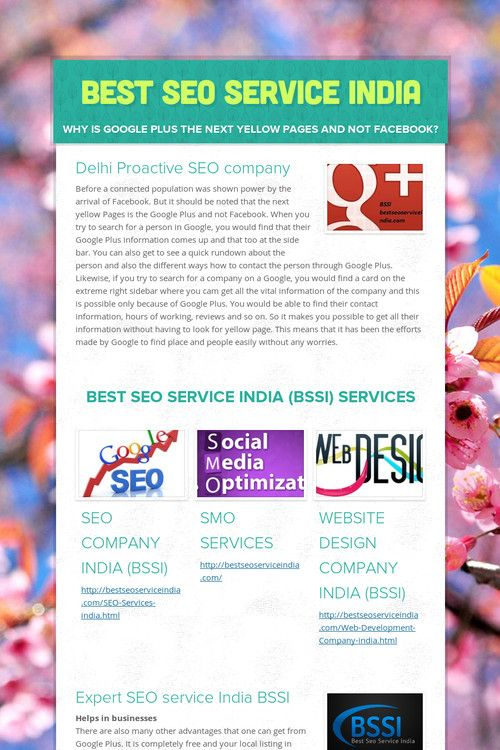best seo services small business