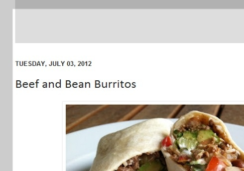 Spicy Beef and Bean Burritos | Main dishes/casseroles/pasta/pizza | P ...