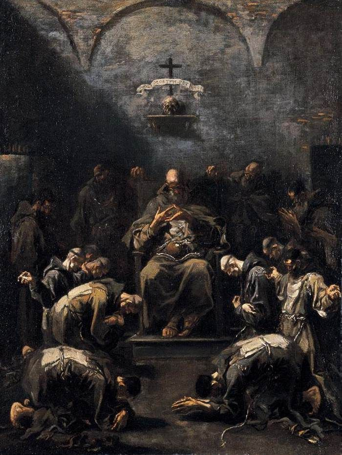 Alessandro Magnasco, Prayer of the Penitent Monks