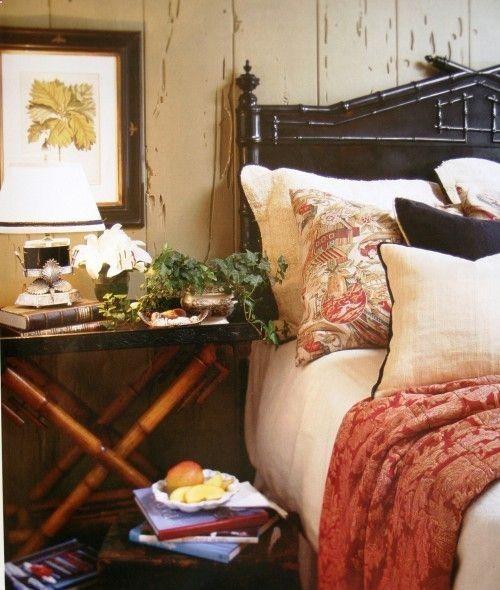 Bedroom British Colonial Pinterest
