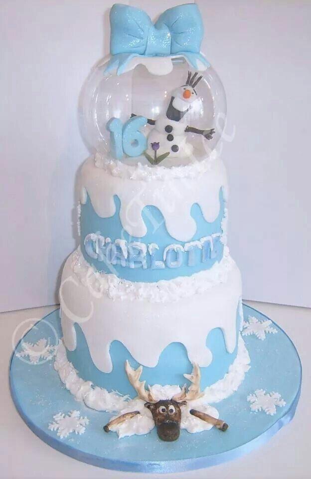 Frozen Cake Design Pinterest : Frozen cake Cake ideas Pinterest