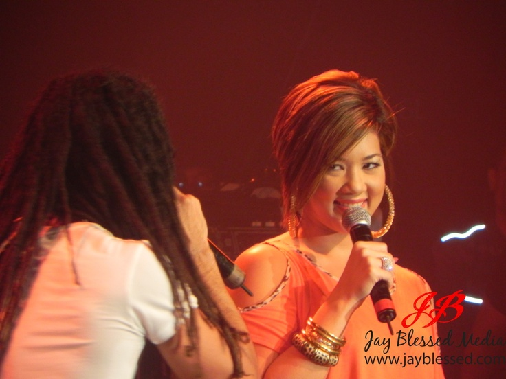 Tessanne Chin. I love her voice and style. This hair style got me ...