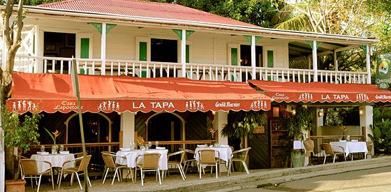 La Tapa, St. John, USVI One of our favorite restaurants :)