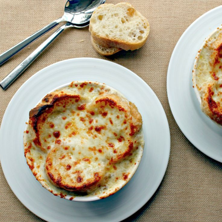 ... French Onion Soup a couple times last year. It was a big hit with my