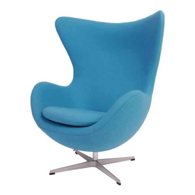 arne jacobsen egg chair blue. Black Bedroom Furniture Sets. Home Design Ideas
