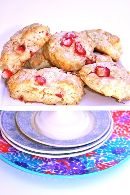 Fresh Strawberry Scones   Let's Eat   Pinterest
