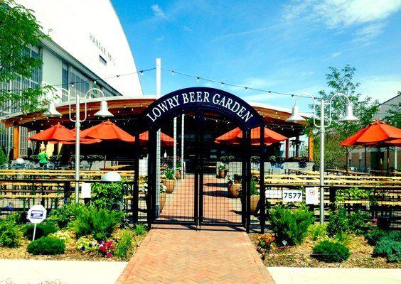 Lowry Denver Beer Hall And Garden Pinterest