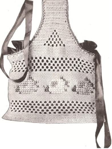 WORK BAG CROCHET PATTERN #0777