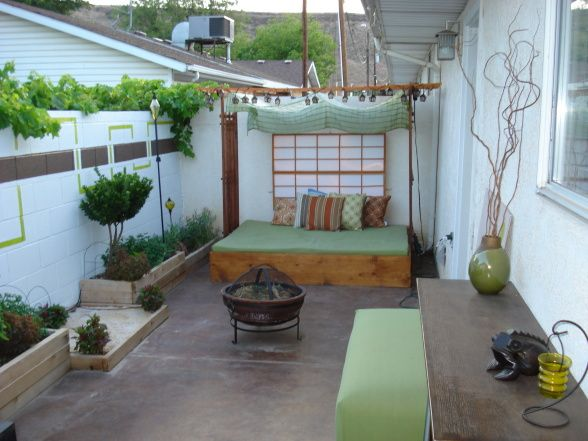 Ideas for small condo patios house made of paper for Inspiration condo patio ideas