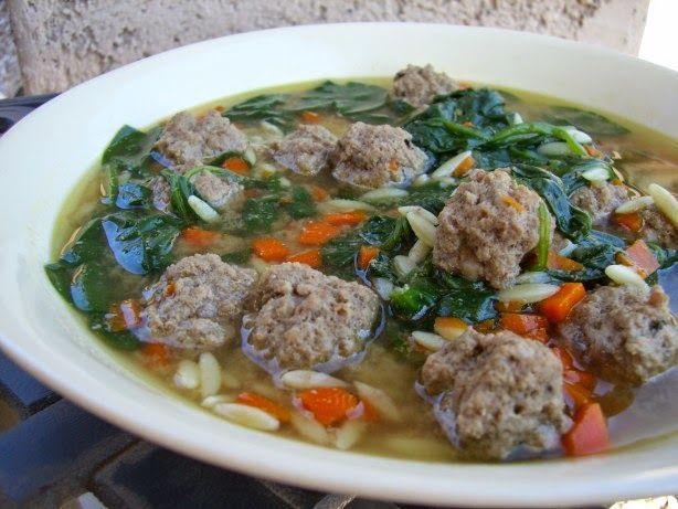 Italian Wedding Soup   Recipes: Soups, Stews & Chili   Pinterest