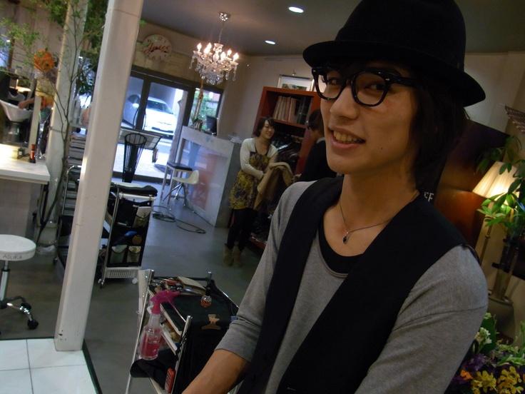 Yusuke Yamada with megane  D-BOYS Yusuke Yamada