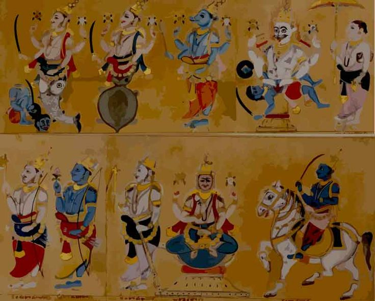 vishnu and the ten incarnations essay Vishnu : the lord of universe by means of various incarnations maintains all the planets inhabited by demigods, men and animals he also taught the lesson of morality balram- in this incarnation lord appeared as the son of king vasudev and his wife rohini and the younger brother of lord krishna.