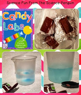 The Science Penguin: Halloween Candy Science Labs