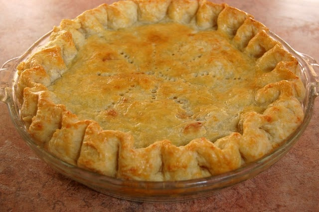 Brown Butter Apple Pie with Cheddar Cheese Crust...I think I'm in Love ...
