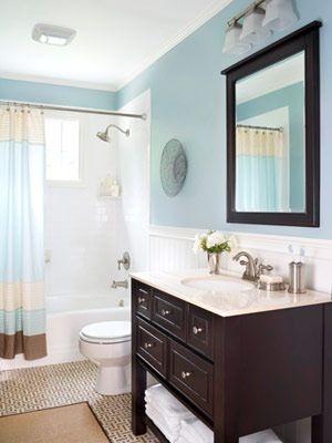 Paint Color Dark Vanity Master Bath Ideas Pinterest