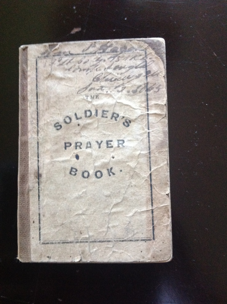 Uncommon civil war union soldier s prayer book must see l