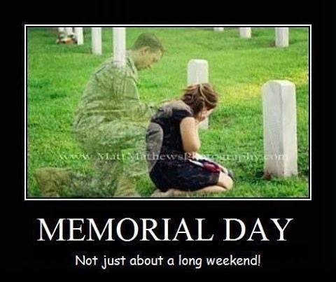 memorial day weekend dates 2013