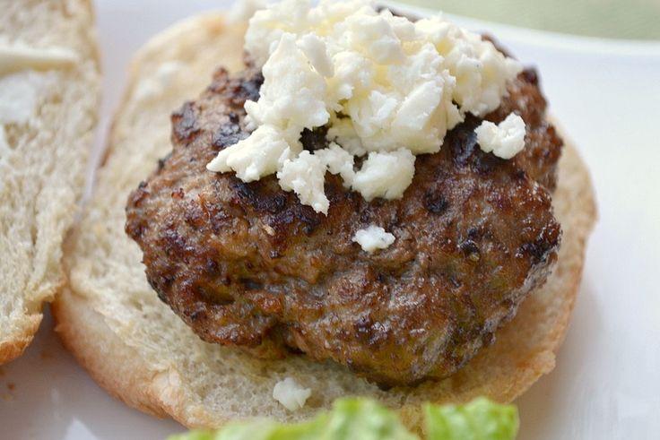 Mediterranean Lamb Burger | Recipes To Try | Pinterest