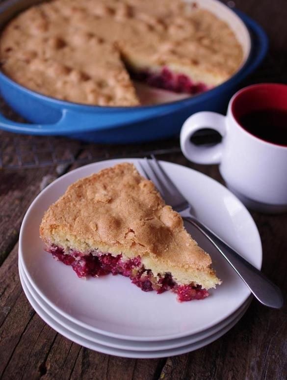 Recipe for crustless cranberry pie - The Boston Globe