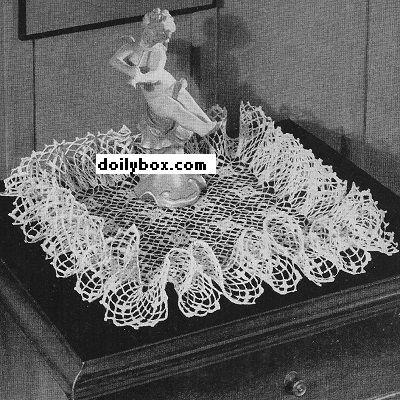 Lion Brand Ruffle Crochet Pattern | Learn to Crochet