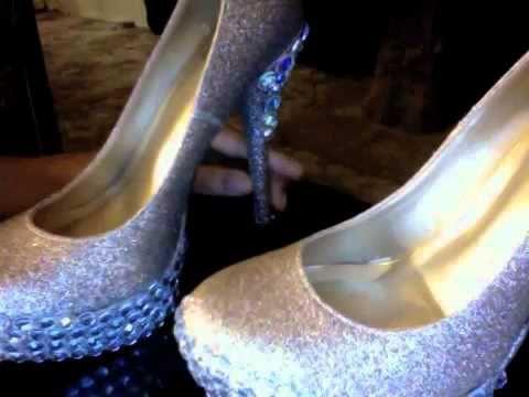 DIY: Rhinestone Heels ♡ | Shoe Decorating/Painting | Pinterest