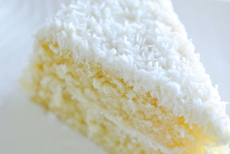 Coconut Cloud Cake - a very light coconut cake | Coconut | Pinterest