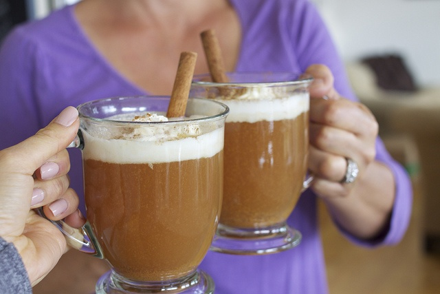 Crock pot Spiced Apple Cider with Whipped Cream by Krystaslifeinfood ...