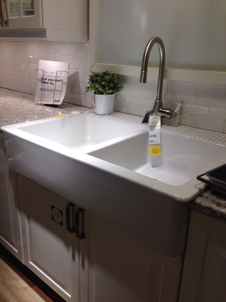 Ikea farm sink 299 for the home pinterest Farmhouse sink ikea