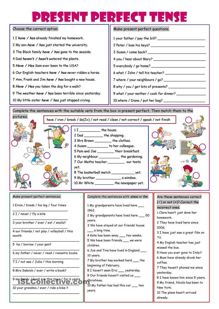 English grammar tenses worksheets for grade 2 pdf