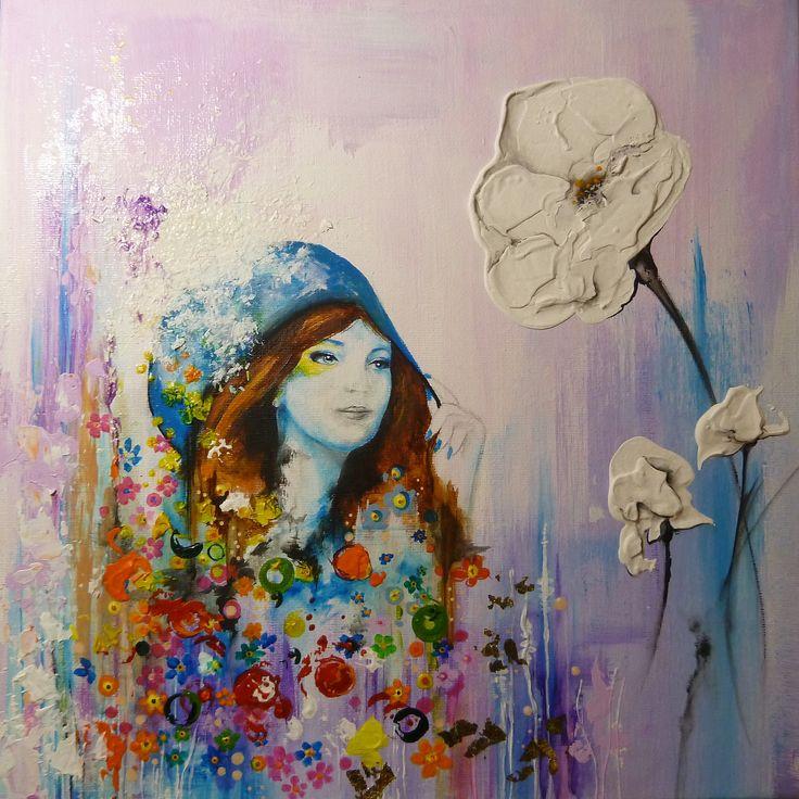 Peinture sur toile peinture pinterest for Pinterest peinture