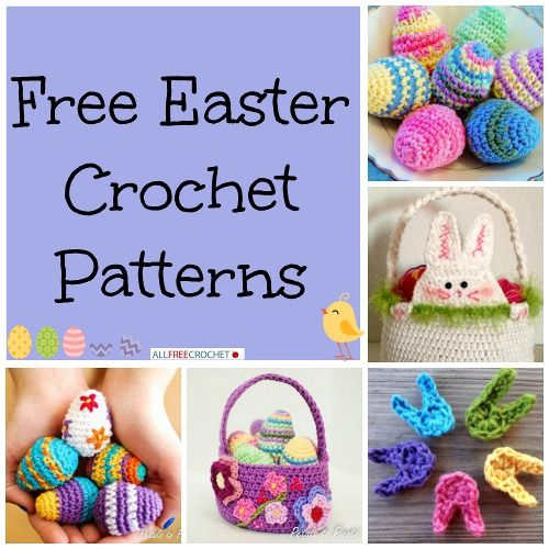 20 Free Easter Crochet Patterns Crochet Crazy! Pinterest