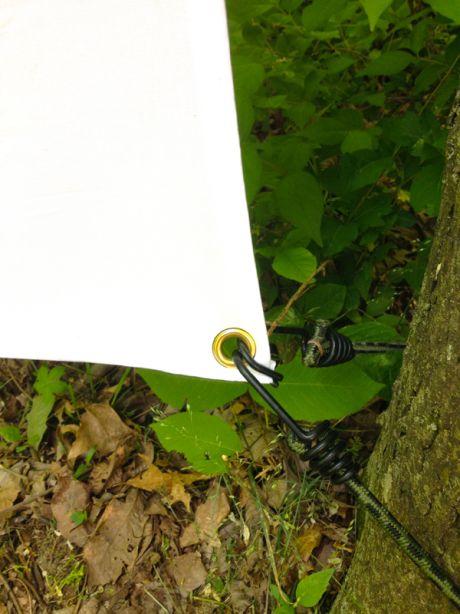 Diy outdoor movie screen modfrugal backyard ideas pinterest