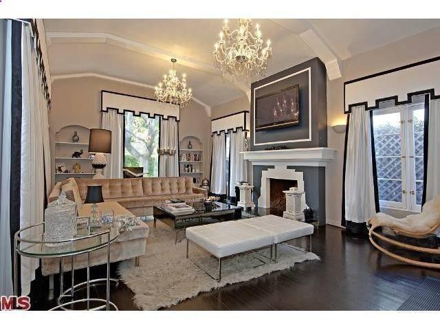 art deco living room loft pinterest