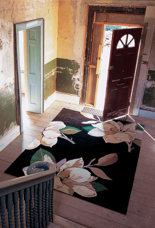 Magnolia Black by Vivienne Westwood for The Rug Company