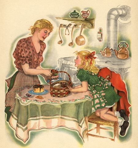 Color Illustration, 1921, Margaret Evans Price.