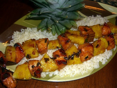 with grilled salmon ed baines salmon skewers salmon teriyaki skewers ...