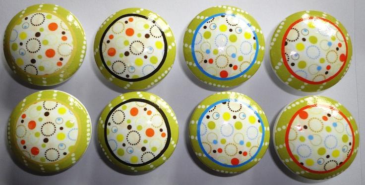 Handmade Pop Dots | Baby 2012 | Pinterest