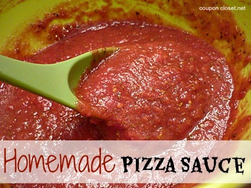 Homemade Pizza Sauce Recipe – Save 75% off or more without using ...