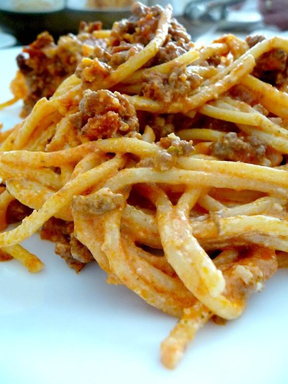 Baked cream cheese spaghetti | Food: Main meal | Pinterest