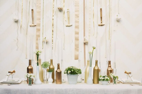 bash, please. inspiration for a modern wedding