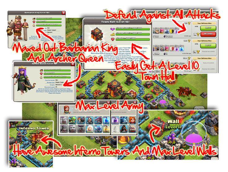 clash of clans secrets hack