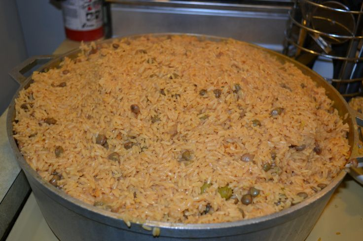 Arroz Con Gandules (Puerto Rican Rice with Pigeon Peas) | Recipe