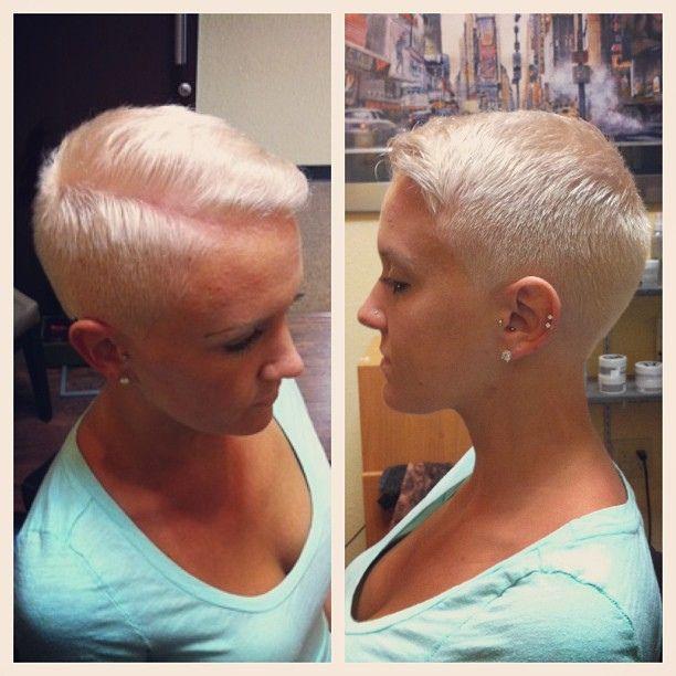 Clipper+Cut+Woman Womens short bob haircut / Clipper cut Secrets ...